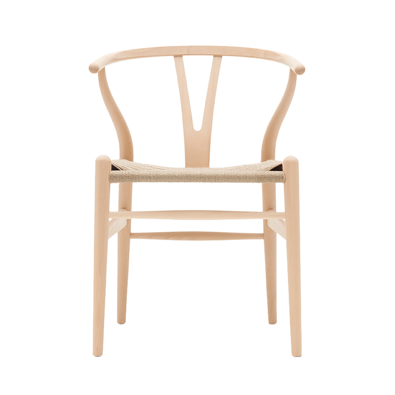 CH24 Y CHAIR BEECH SOAP NATURAL PAPER CORD