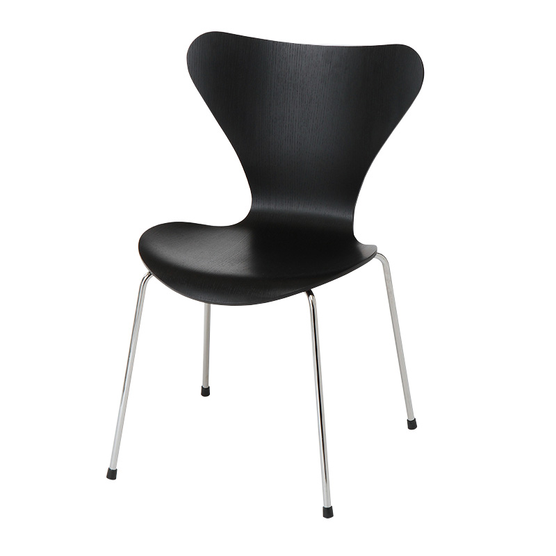 SERIES 7 CHAIR COLORED ASH BLACK