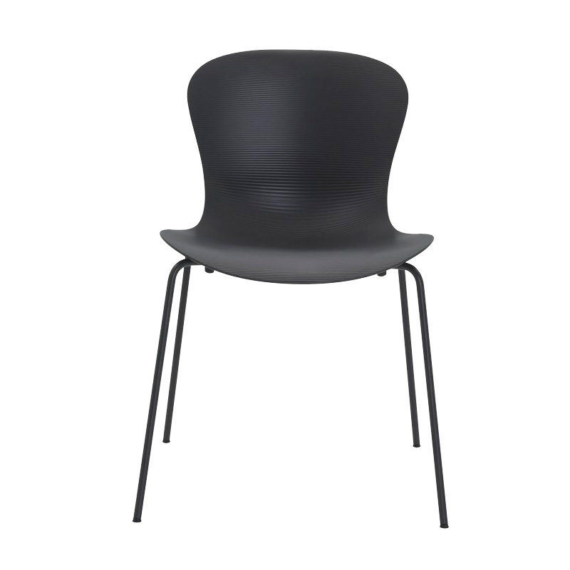 NAP CHAIR PAPPER GREY CHROME LEG