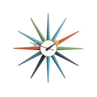 SUNBURST CLOCK MULTI