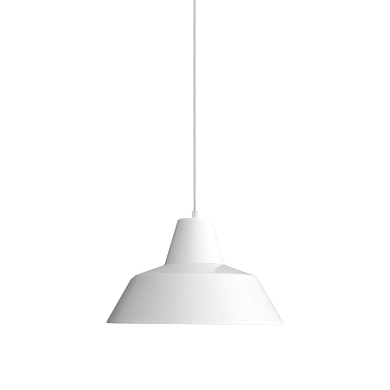 THE WORKSHOP LAMP WHITE SMALL