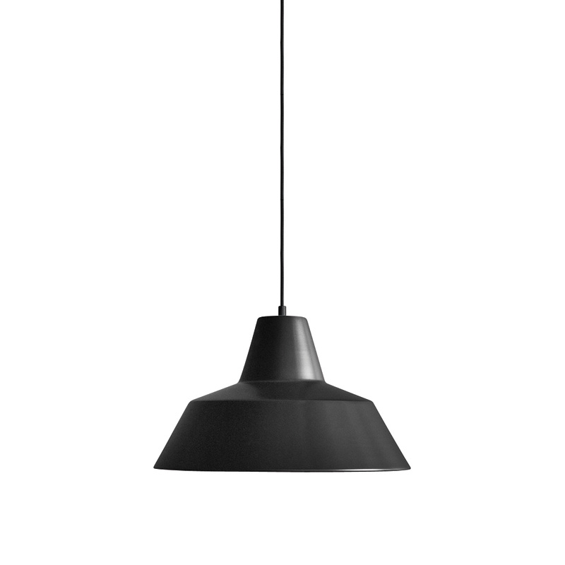 THE WORKSHOP LAMP BLACK SMALL