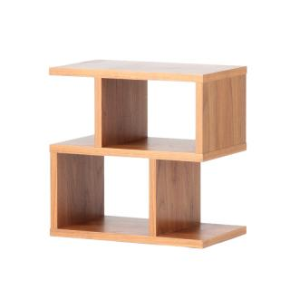 BALANCE SIDE TABLE WALNUT