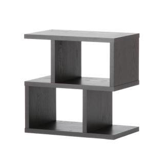 【CLEARANCE】 BALANCE SIDE TABLE BLACK