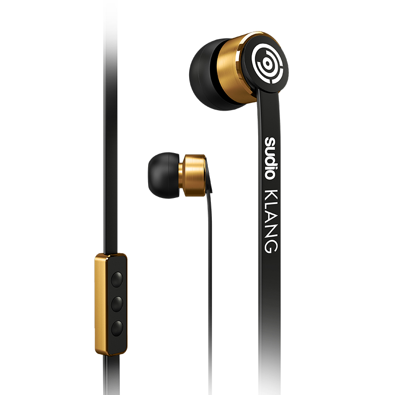 SUDIO KLANG EARPHONE BLACK