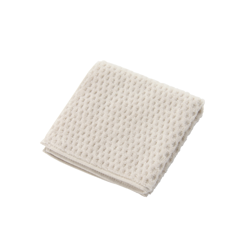 HALF CUT HANDKERCHIEF TOWEL GREY