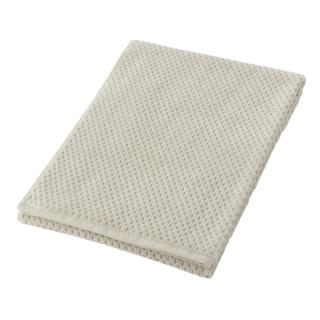 HALF CUT BATH TOWEL GREY