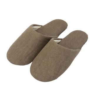 DENIM SLIPPERS KHAKI