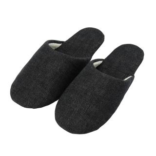 DENIM SLIPPERS BLACK