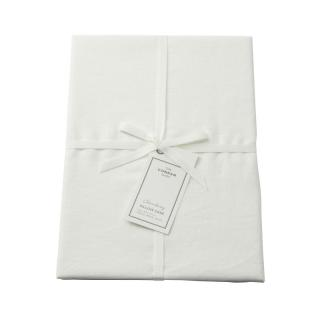 CHAMBRAY PILLOW CASE WHITE