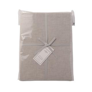 【CLEARANCE】 CHAMBRAY DUVET COVER L.GREY SINGLE