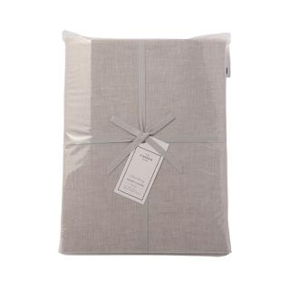 【CLEARANCE】 CHAMBRAY DUVET COVER L.GREY DOUBLE