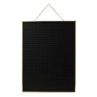 LETTER BOARD VERTICAL GOLD L