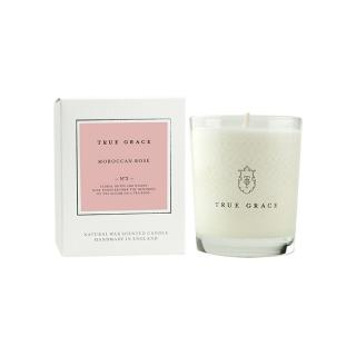TRUE GRACE CLASSIC CANDLE MOROCCAN ROSE