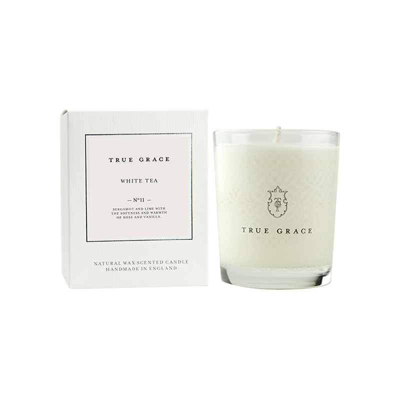TRUE GRACE CLASSIC CANDLE WHITE TEA