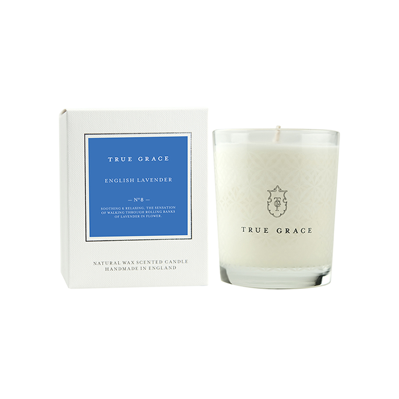 TRUE GRACE CLASSIC CANDLE ENGLISH LAVENDER