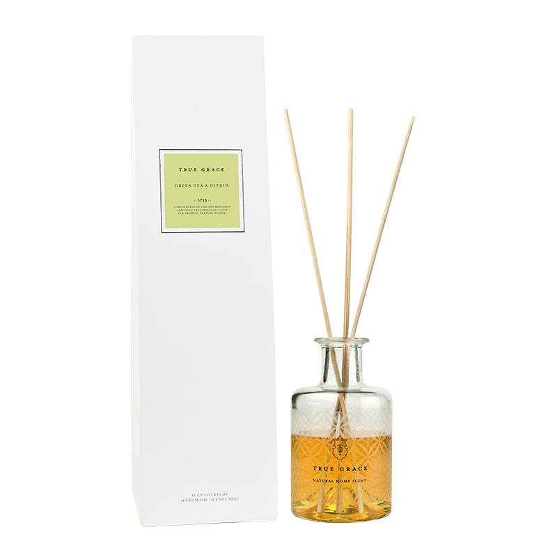 TRUE GRACE SCENTED REEDS GREEN TEA & CITRUS