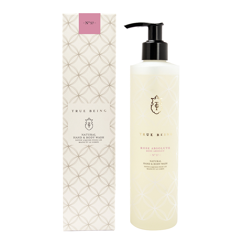 TRUE GRACE TRUE BEING HAND & BODY WASH ROSE ABSOLUTE 290ML