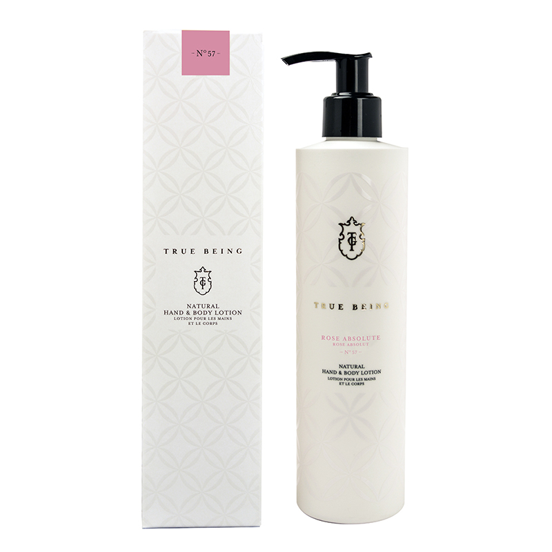TRUE GRACE TRUE BEING HAND & BODY LOTION ROSE ABSOLUTE 290ML