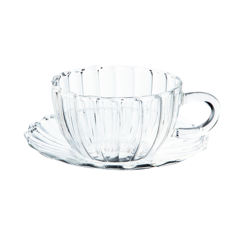 ROMANTIC TEA CUP WITH SAUCER 90ML