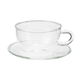 TEA-TIME COFFEE CUP WITH SAUCER 90ML
