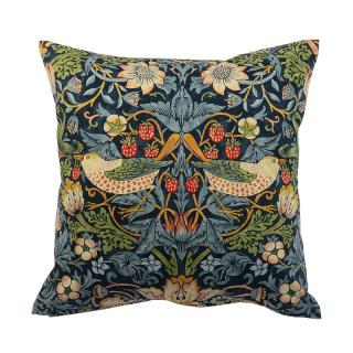 WILLIAM MORRIS STRAWBERRY THIEF CUSHION COVER