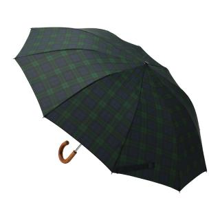 FOX UMBRELLAS TELESCOPIC BLACK WATCH TARTAN