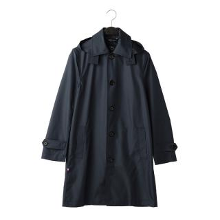 FOX UMBRELLAS MEN'S BALMACAAN COAT NAVY UK36