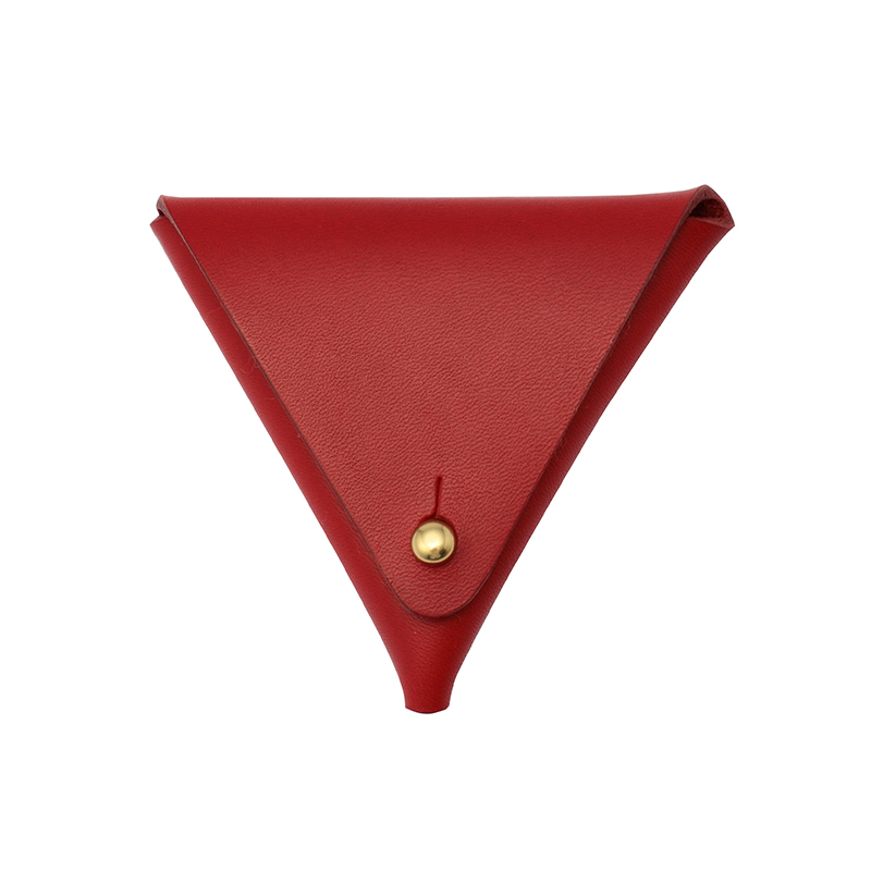 HANSON OF LONDON COIN PURSE RED
