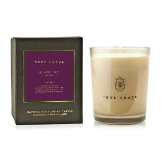 TURE GRACE MANOR CLASSIC CANDLE BLACK LILY