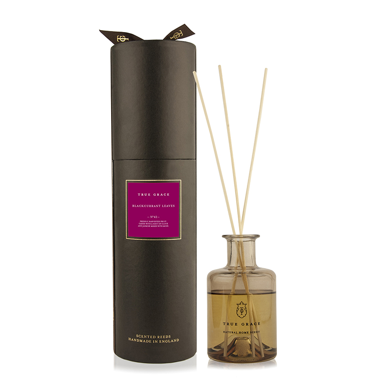 TRUE GRACE MANOR ROOM DIFFUSER BLACKCURRANT LEAVES