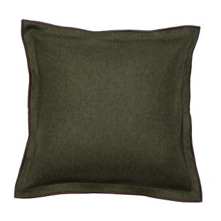 FELT CUSHION COVER 45X45 GREEN