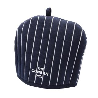 BUTCHER STRIPE TEA POT COVER NAVY