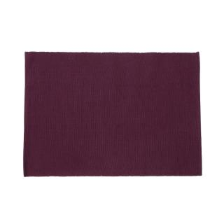 RIBBED PLACE MAT 35X50 PLUM