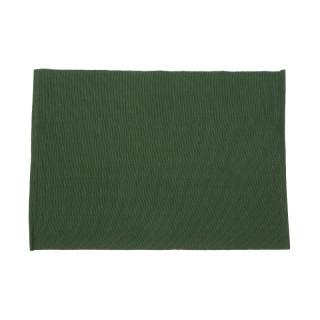 RIBBED PLACE MAT 35X50 FOREST GREEN
