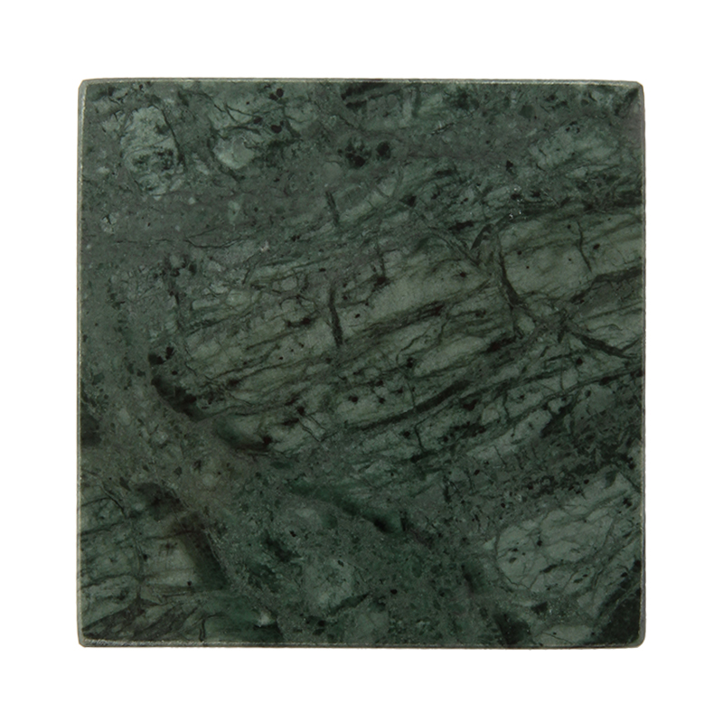 SQUARE GREEN MARBLE COASTER