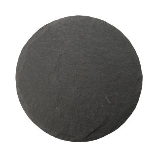 BLACK SLATE ROUND CHEESE BOARD