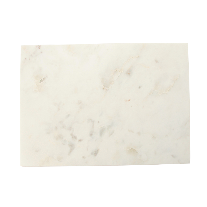WHITE MARBLE RECTANGLE BOARD W335