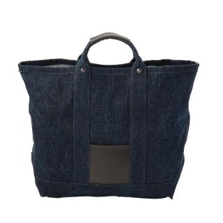 HENDER SCHEME CAMPUS BAG BIG DENIM