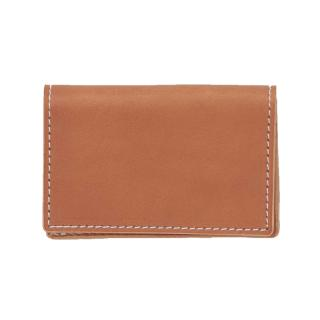 HENDER SCHEME FOLDED CARD CASE NATURAL