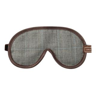 OTIS BATTERBEE EYE MASK PRINCE OF WALES CHECK