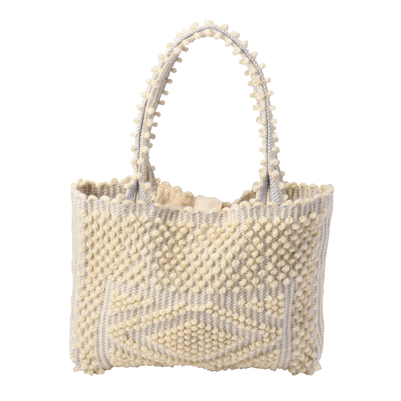 ANTONELLO LISCIA SMALL TOTE BAG CREAM