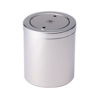 DECOR WALTHER TABLE PAPER BIN SS POLISHED
