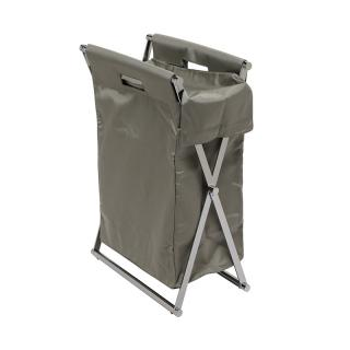 DECOR WALTHER FOLDABLE NYLON LAUNDRY BASKET GREY