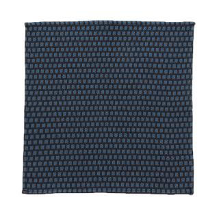 MARWOOD SQUARES POCKET SQUARE - TEAL NAVY