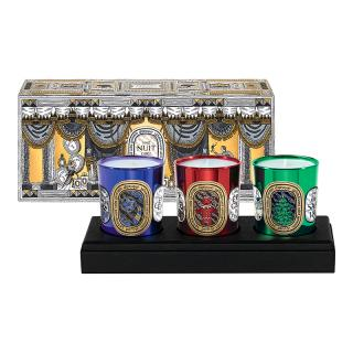 DIPTYQUE 2016 XMAS CANDLES SET