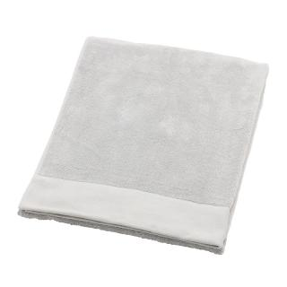 DOUBLE BORDER TOWEL 70X140CM PLATINUM