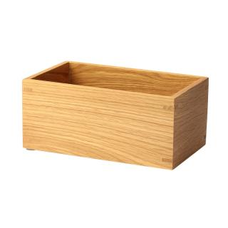 WIREWORKS MEZZA STORAGE BOX OAK