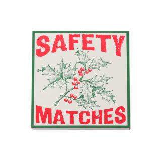 SQUARE MATCHBOXES SAFETY