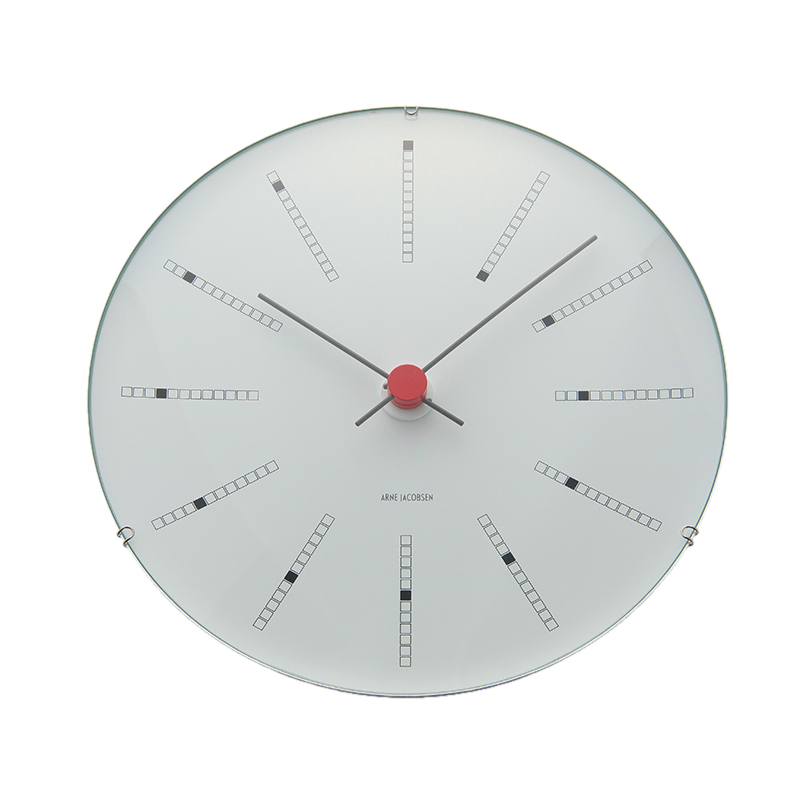A.JACOBSEN BANKERS WALL CLOCK 210